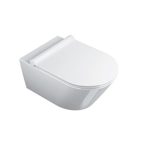 Catalano Zero Miska WC wisząca 55x35 +śruby mocujące (5KFST00) biała