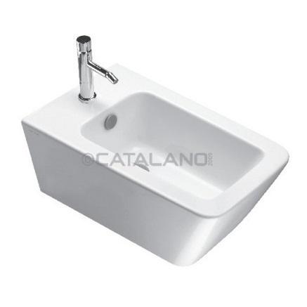Catalano Proiezioni Bidet wiszący 56x34 +śruby mocujące (5KFST00) biały