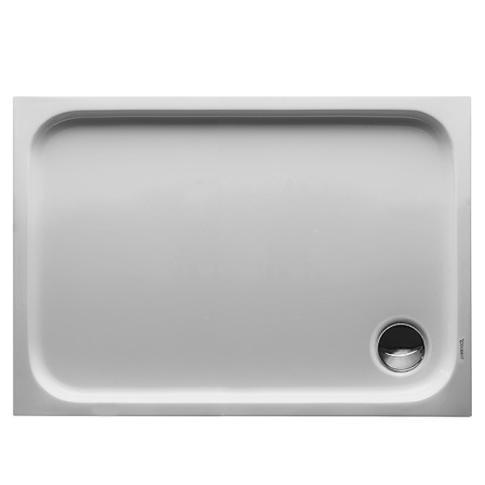 Duravit D-Code Brodzik prostokątny 120x70 cm biały