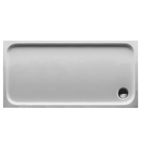 Duravit D-Code Brodzik prostokątny 140x70 cm biały