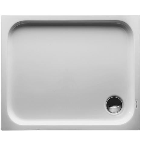 Duravit D-Code Brodzik prostokątny 90x80 cm biały