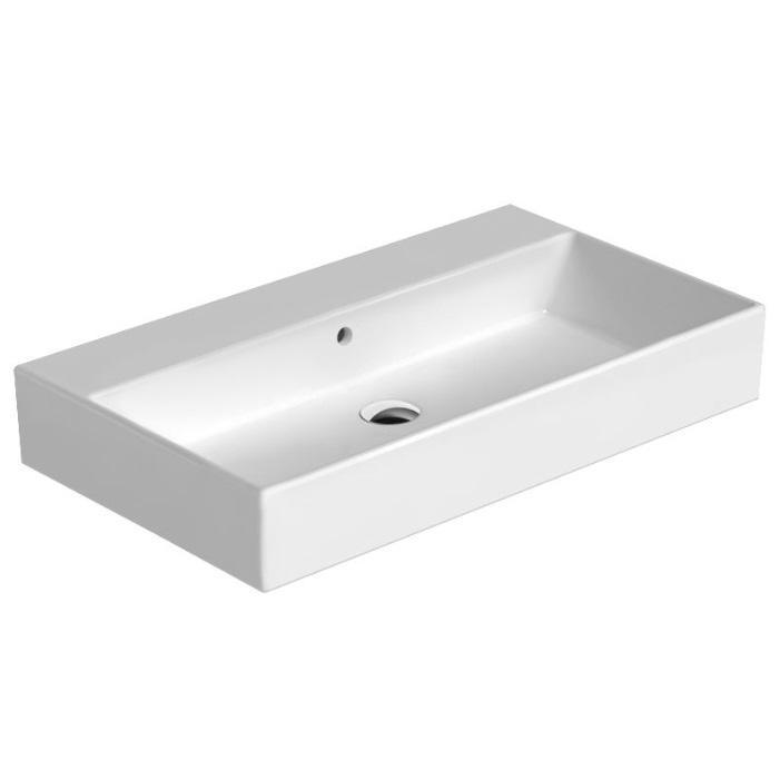 Catalano Premium Umywalka nablatowa lub wisząca 80x47 biała