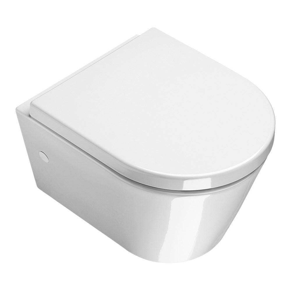 Catalano Zero Miska WC wisząca 45x35 biała +śruby mocujące NEW (5KFST00)