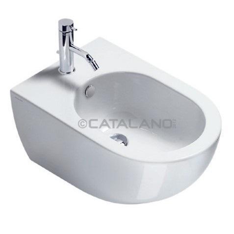 Catalano Sfera Bidet wiszący +śruby mocujące (5KFST00) 54x35 biały