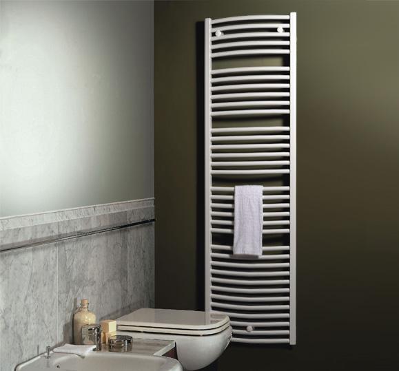 Vasco BM 0450x0702 grzejnik łazienkowy drabinkowy biały
