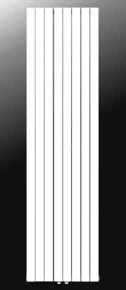 Vasco DECOLINE DT1 0450X1800 grzejnik łazienkowy drabinkowy biały