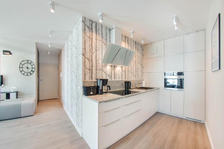 Przykładowe mieszkanie pod wynajem | proj. FLOW Interiors
