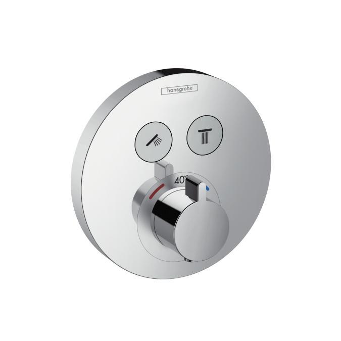 Hansgrohe ShowerSelect S bateria termostatyczna dla 2 odbiorników