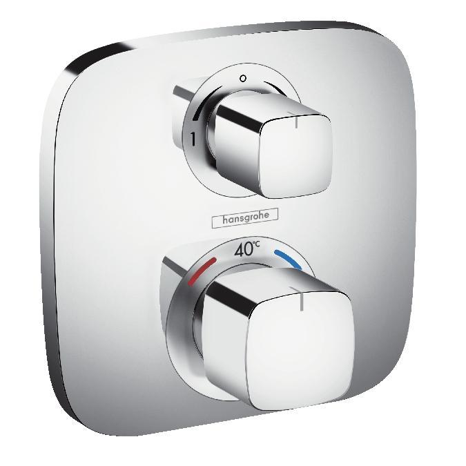 Hansgrohe Ecostat E Bateria termostatyczna z zaworem odcinająco-przełączającym