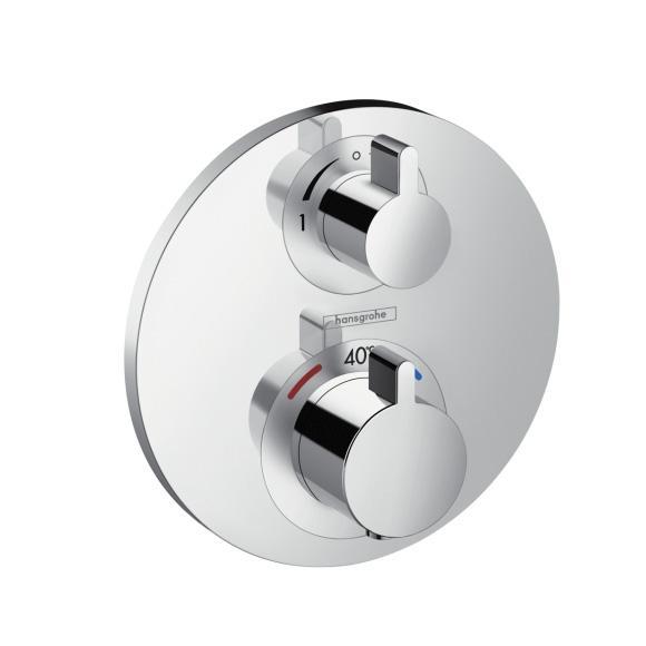 Hansgrohe Ecostat S Bateria termostatyczna z zaworem odcinajaco-przełączającym