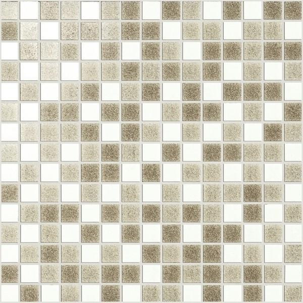 Marazzi Italia SistemV- Glass mosaic Mozaika Avorio Mix Rete