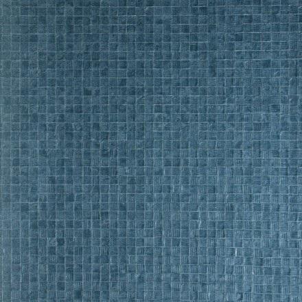 Arte Monsoon Mosaic Tapeta winylowa niebieska