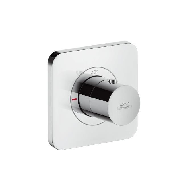 Axor Citterio E Bateria termostatyczna 12x12 podtynkowa element zewnętrzny DN20 chrom