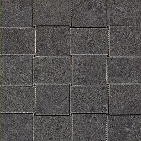 Marazzi Italia Mystone Gris Fleury Mozaika 30x30 Nero