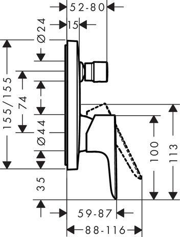 montaż podtynkowy