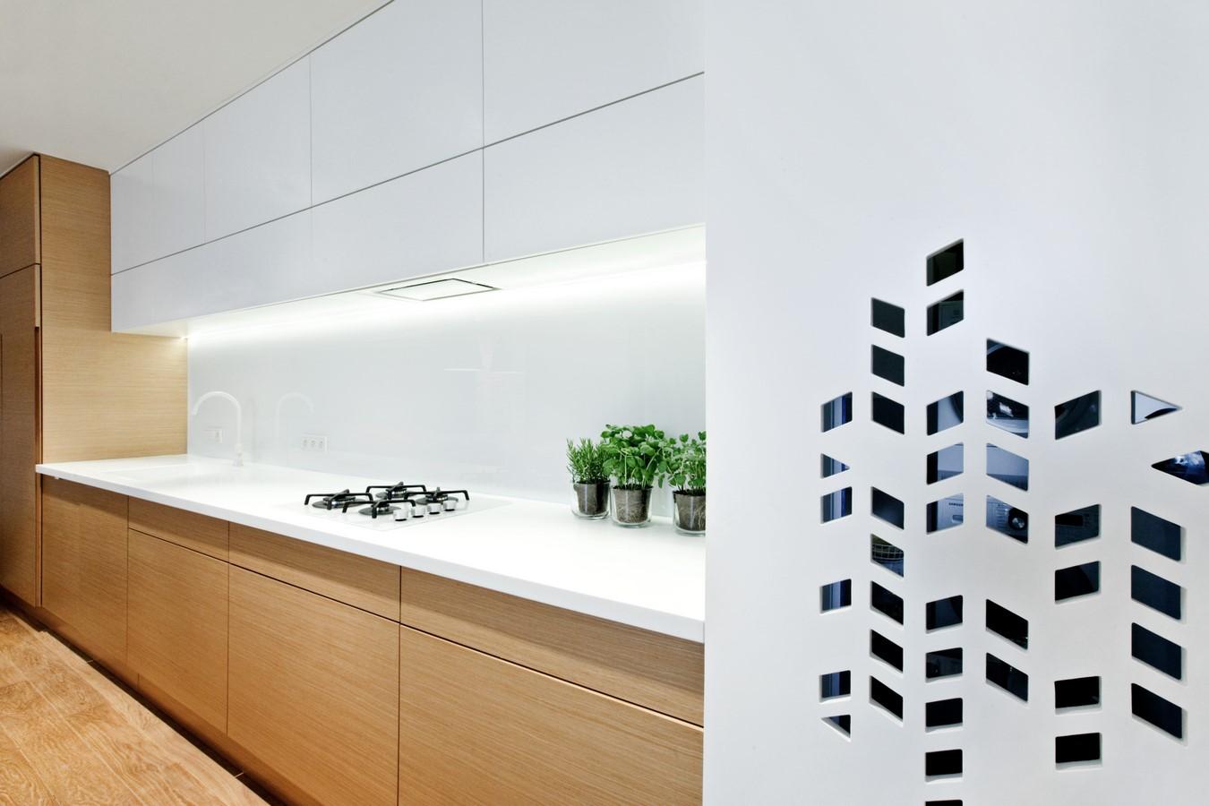 kuchnia, spacelab, projekt ażurowego wnętrza