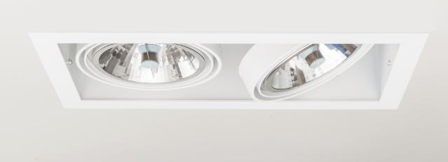 SternLight BasicStern Oprawa wbudowana RECESSED 2xGU10 biała