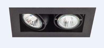 SternLight BasicStern Oprawa wbudowana RECESSED 2xGU10 czarna