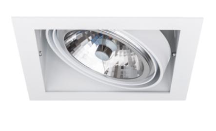 SternLight BasicStern Oprawa wbudowana RECESSED 1xG53 biała