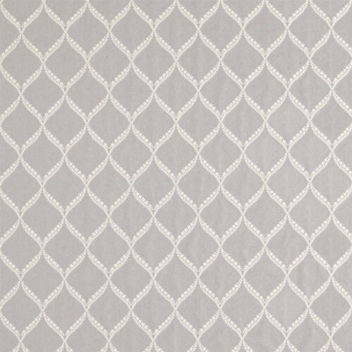 Sanderson Potton Wood Fabrics Tkanina Dalby Silver