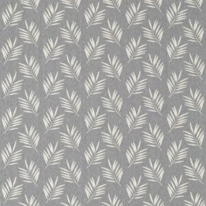 Sanderson Potton Wood Fabrics Tkanina Tilton Charcoal