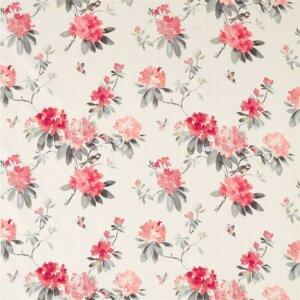 Sanderson Waterperry Fabrics Tkanina Rhodera Coral