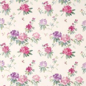 Sanderson Waterperry Fabrics Tkanina Rhodera Blossom