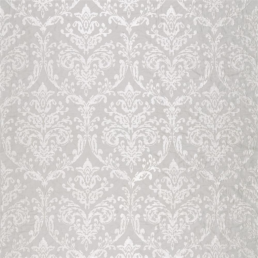 Sanderson Waterperry Fabrics Tkanina Riverside Damask Dove
