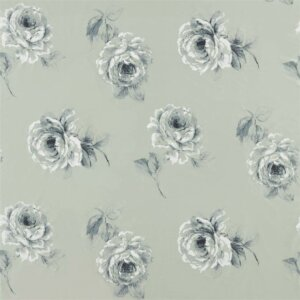 Sanderson Waterperry Fabrics Tkanina Rosa Mint