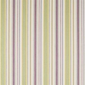 Sanderson Maida Fabrics Tkanina Dobby Stripe Fig/Olive