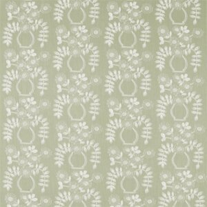 Sanderson Maida Fabrics Tkanina Flower Pot Fennel