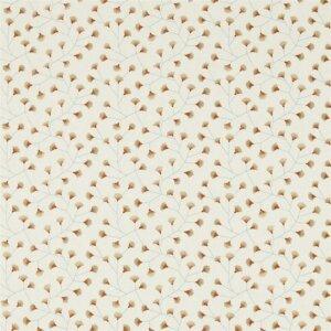 Sanderson Maida Fabrics Tkanina Gingko Trail Brick