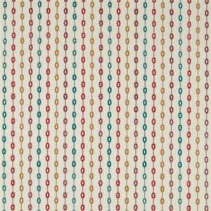 Sanderson Maida Fabrics Tkanina Shaker Stripe Brick