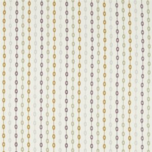 Sanderson Maida Fabrics Tkanina Shaker Stripe Fig/Olive