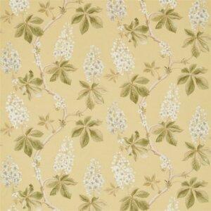 Sanderson Woodland Walk Tkanina Chestnut Tree Lemon/Lettuce