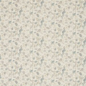 Sanderson Woodland Walk Tkanina Woodland Berries Grey/Silver