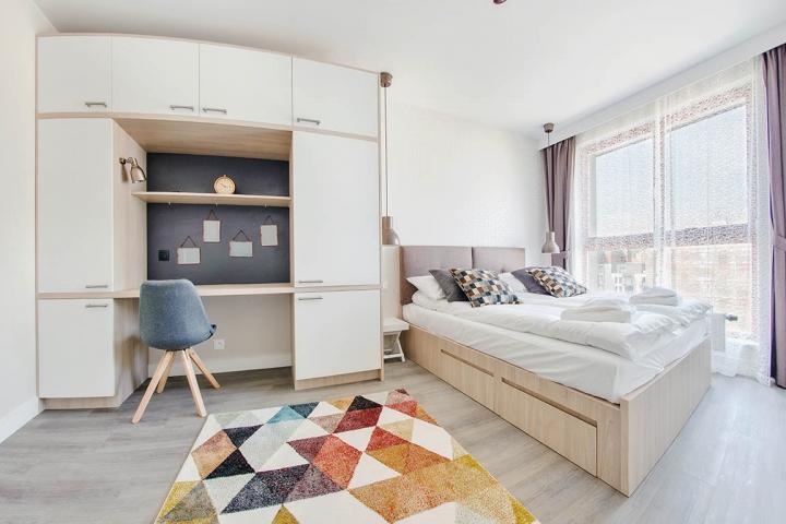 Przykładowe mieszkanie pod wynajem   proj. FLOW Interiors