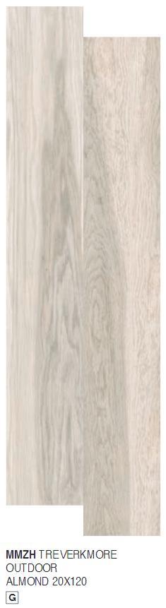 Marazzi Treverkmore gres szkliwiony barwiony 20x120 Almond