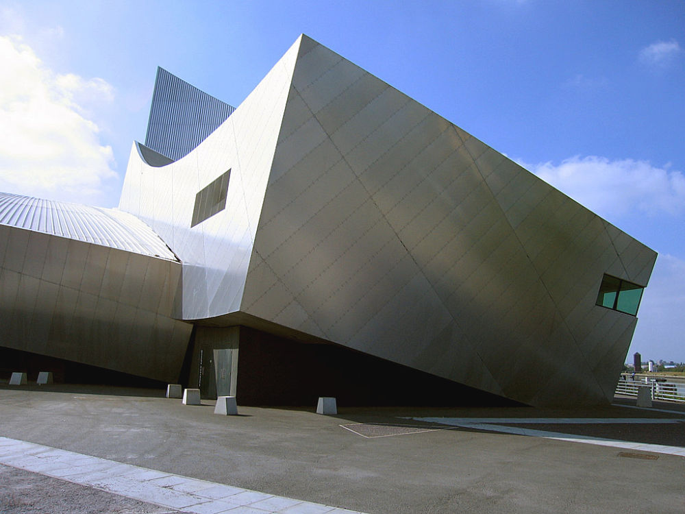 Imperial War Museum North w Manchesterze – proj. Daniel Libenskind