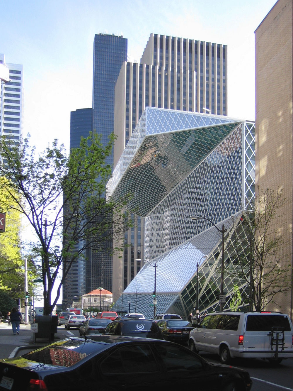 Seattle Central Library – projekt Rem Koolhaas i OMA