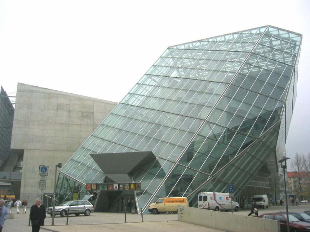 UFA-Palast w Dreźnie – projekt Coop Himmelb(l)au