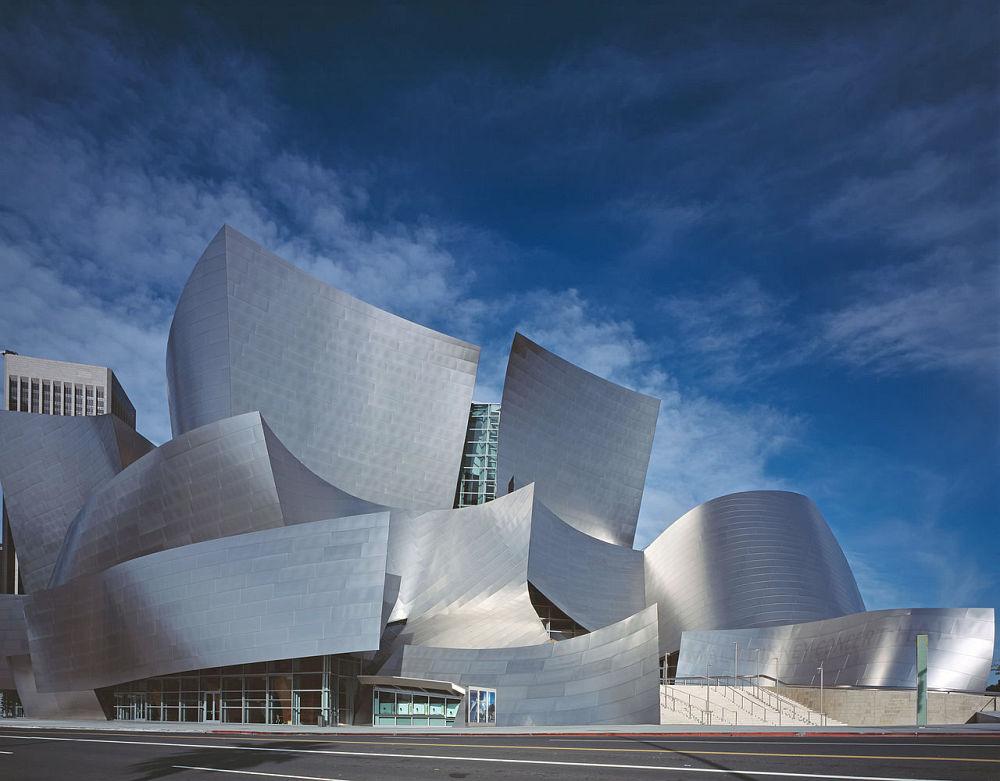 Sala koncertowa Walt Disney projekt Frank Gehry