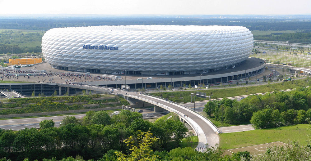 Architektura High Tech – Allianz Arena
