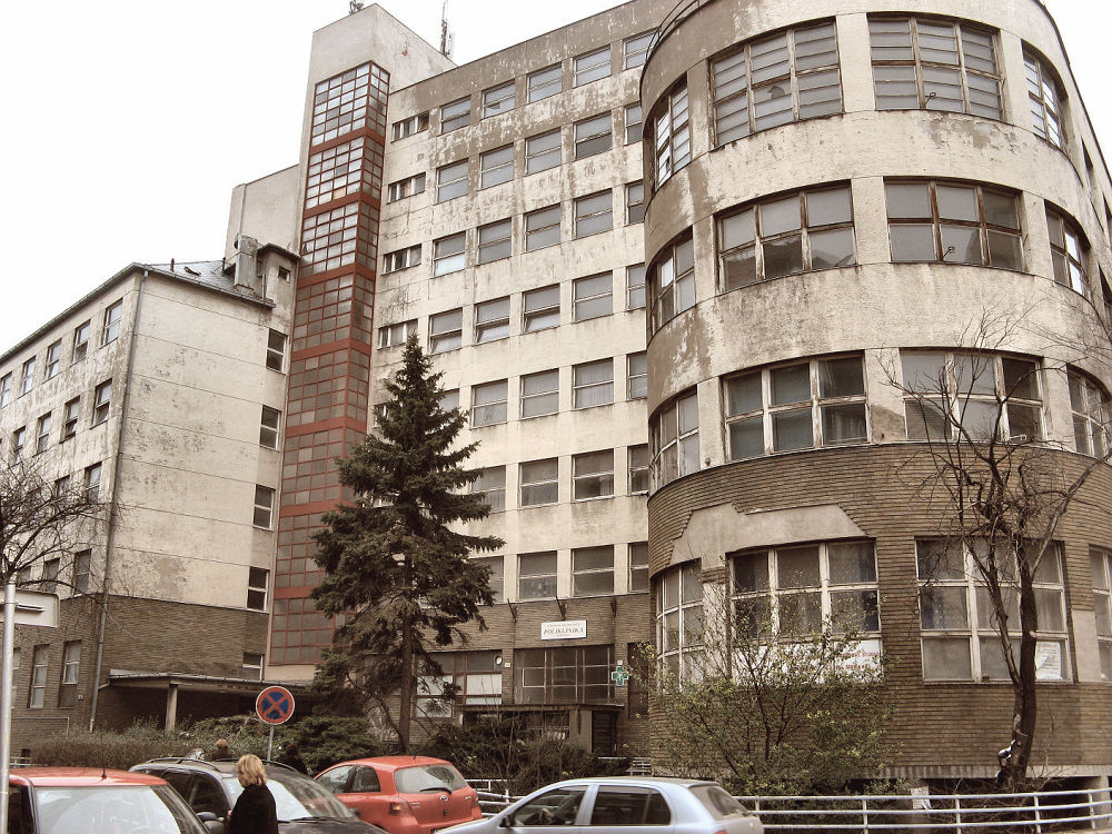 Szpital Bezručova – projekt Alois Balán & Jiří Grossmann