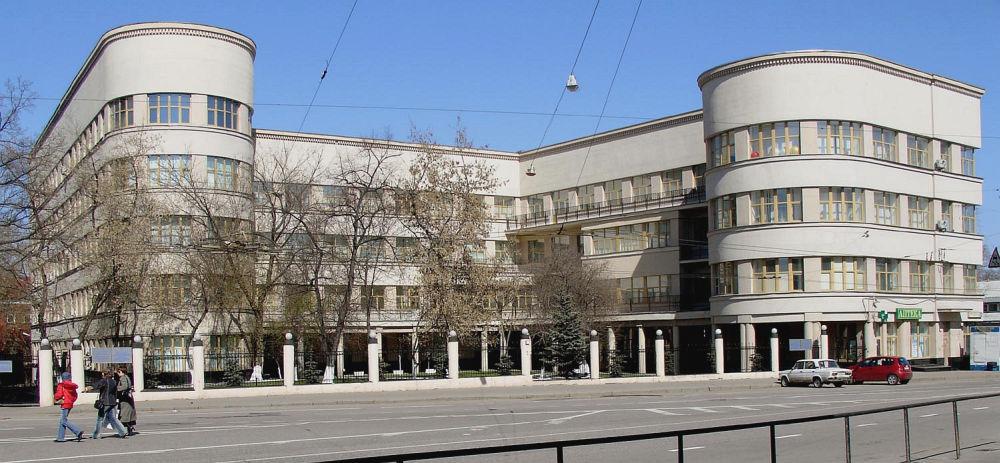 MPS Building, Moscow – projekt Ivan Fomin