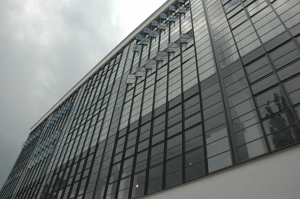 Budynek Bauhausu w Dessau-Roßlau – projekt W. Gropius