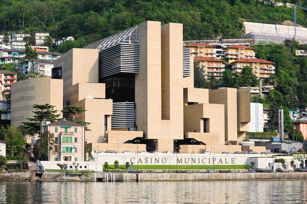 Casinò di Campione in Campione d'Italia – projekt Mario Botta