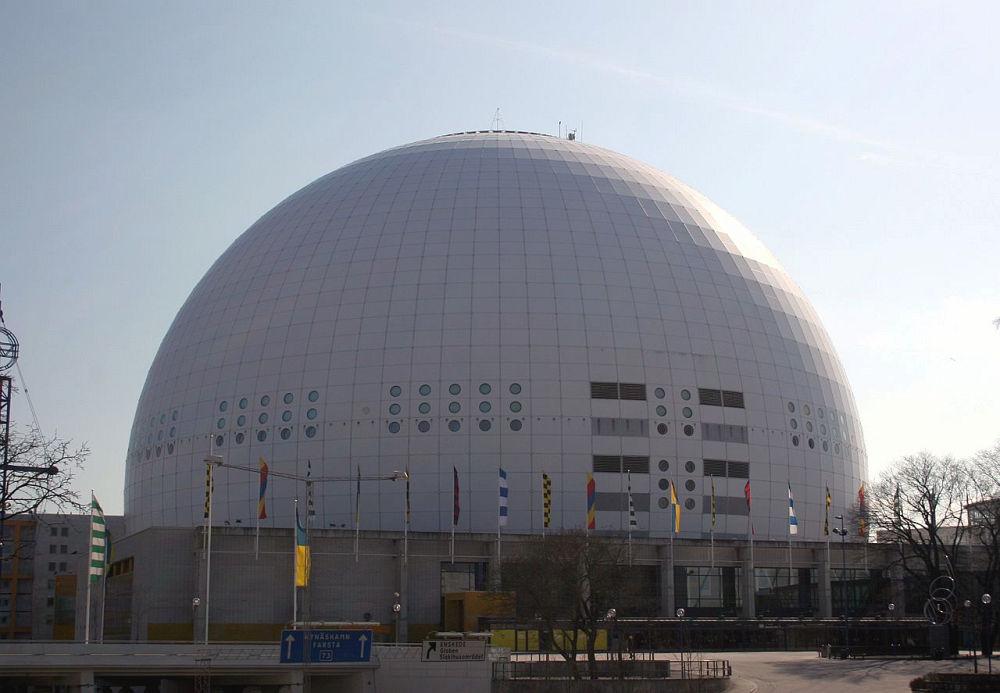 Ericsson Globe – projekt Svante Berg&Lars Vretblad