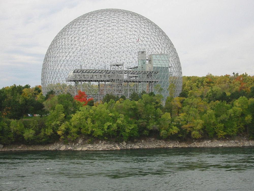 The Montreal Biosphère – projekt Buckminster Fuller