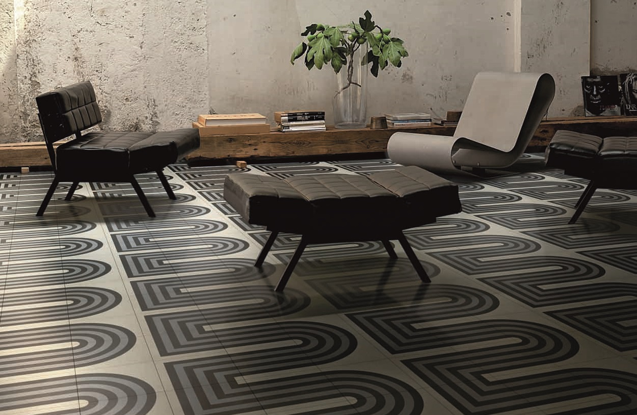 Bisazza-Cementiles_Duct-Grey_design-Tom-Dixon